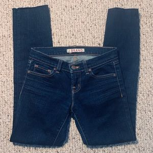 J Brand Dark wash skinny Size 24